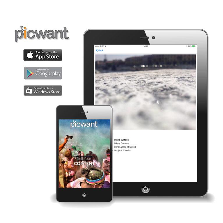 Portfolio Picwant Mobile App - Akira Digital