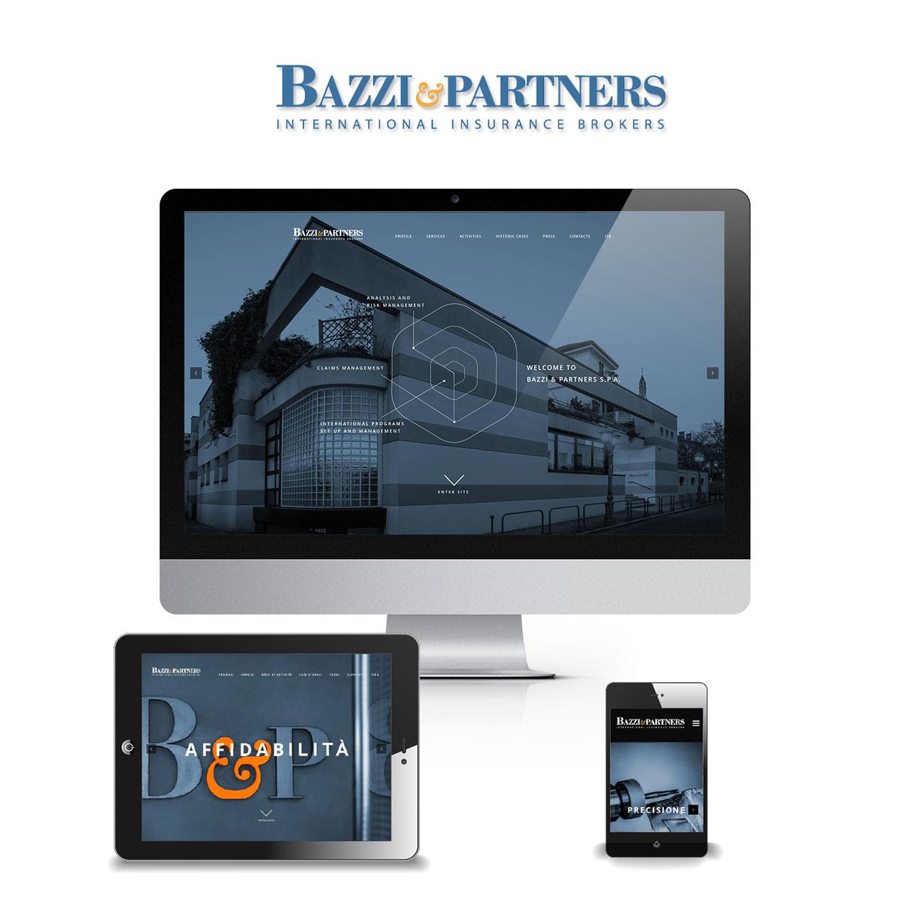 Portfolio Bazzi Partners Responsive Website - Akira Digital