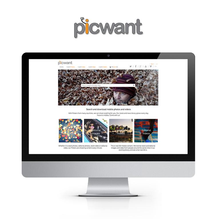 Portfolio Picwant E-Commerce - Akira Digital
