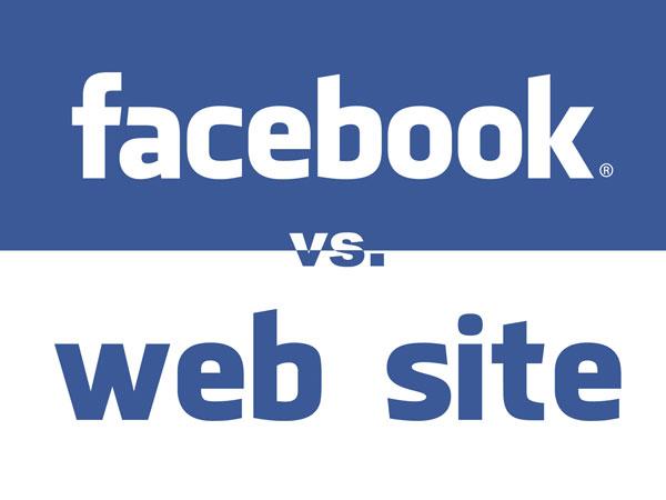 facebook vs website - Akira Digital