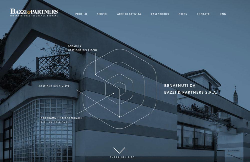 Sito Web Bazzi & Partners - Akira Digital