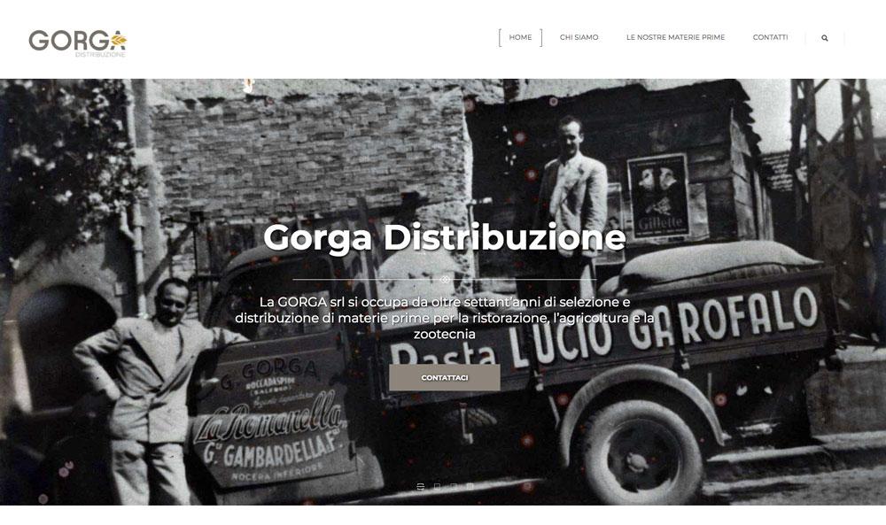 Sito Web Gorga Srl - Akira Digital