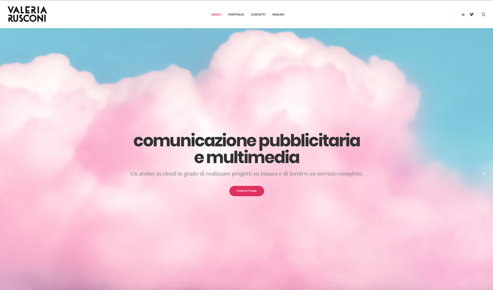 Sito Web Valeria Rusconi Clerici - Akira Digital
